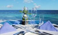 Menu avec cocktail, accord mets et vin, accès spa et location de vélo pour 2 à 99 € au restaurant Le Celtique