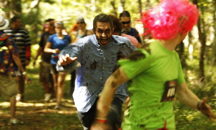 Zombie Charge - Suchocki Tree Farm: $39 for Entry to Zombie Charge 5K on Saturday, June 6 ($78 Value)
