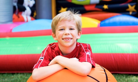 5, 10, or 25 Kids' Open-Bounce Visits to Jumpin' Jax Bounce & Party Center (Up to 60% Off)