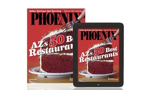 Phoenix Magazine: 12 or 24 Monthly Issues of _Phoenix Magazine_ (Up to 50% Off)