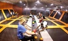 AirTime Trampoline & Game Park - Sterling Heights: Two-Hour Trampoline Session for One, or a Party for 10 at AirTime Trampoline & Game Park (Up to 51% Off)