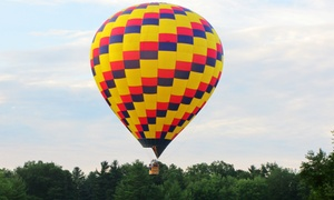 A&A Balloon Rides, LLC: $299 for a Sunrise Hot Air Balloon Ride for Two with Champagne from A&A Balloon Rides, LLC ($450 Value)