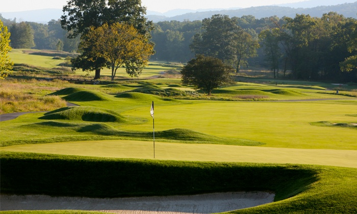 Bedford Springs Golf Club - Bedford: Golf Packages at Bedford Springs Old Course at Omni Bedford Springs Resort (Up to 55% Off). Three Options.
