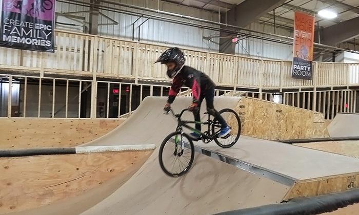 Epic Indoor Bike Park - EPIC Indoor Bike & Skate Park: C$249 for One Week of Summer Camp at Epic Indoor Bike Park (C$349 Value)