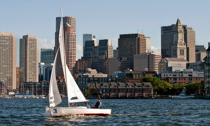 Courageous Sailing Center - Charlestown: $95 for a Two-Hour Private Sailing Lesson or Leisurely Cruise from Courageous Sailing ($190 Value)