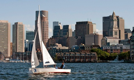 Two-Hour Private Sailing Lesson or Family Harbor Cruise from Courageous Sailing (50% Off)