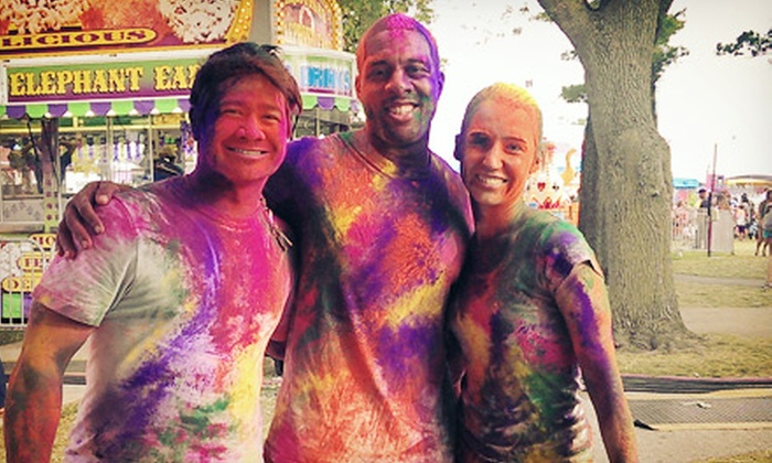 Active Care Color Blast 5K - Arlington Heights : Registration for One or Two into the Active Care Color Blast 5K on Saturday, August 10 (Up to 54% Off)