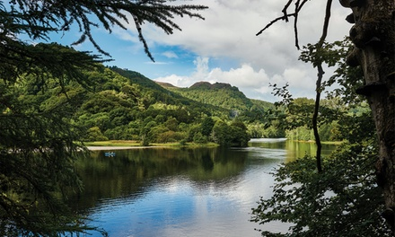 groupon.co.uk - Perth and Kinross: Double Room for Two with Breakfast and Dinner at The Pitlochry Hydro Hotel