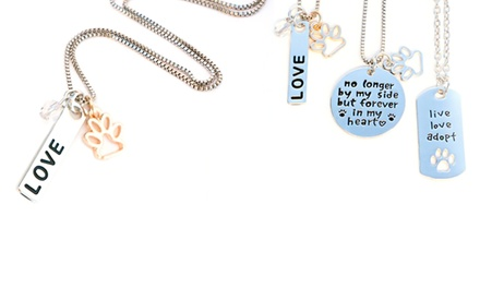 Pet-Themed Necklaces from Stamp the Moment