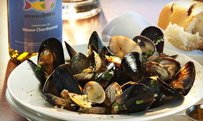 Enterprise Fish Co. - Ocean Park: $18 for $30 Worth of Seafood and American Cuisine at Enterprise Fish Co.