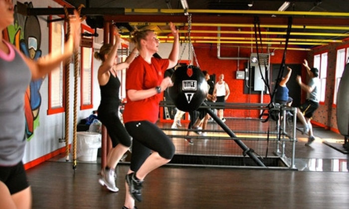 Urban Jungle - Maspeth: 4, 8, or 12 Cardio-Kickboxing Boot-Camp Classes at Urban Jungle in Queens (Up to 81% Off)