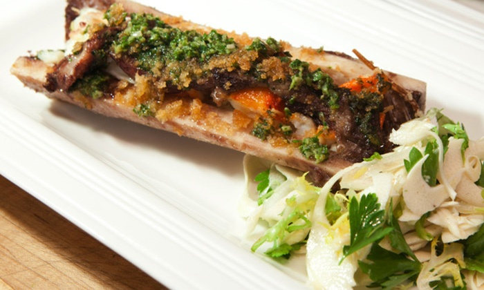 Xaviars X2O on the Hudson - Downtown Yonkers: Three-Course New American Dinner for Two or Four at Zagat-Rated Xaviars X2O on the Hudson (Up to 44% Off)
