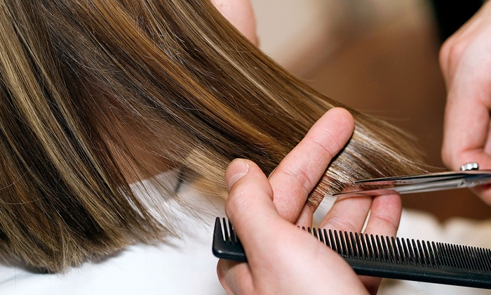 Platinum Hair Studio - Hartford: Haircut and Partial Highlights with Gift Bag at Platinum Hair Studio (Up to  Off)