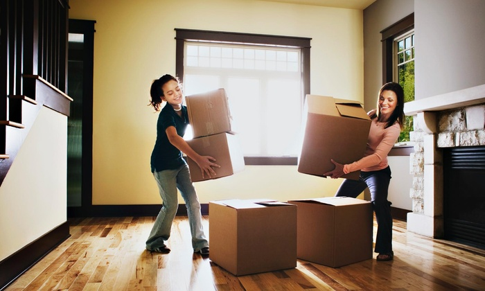 Qshark Moving Company - Multiple Locations: Two Hours of Moving Services from Qshark Moving Company (57% Off)