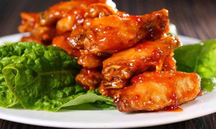 Three Dollar Cafe Jr - Alpharetta: 20% Off Order of 20 Wings at Three Dollar Cafe Jr