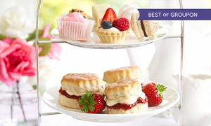 The Court Bar: Afternoon Tea For Two or Four at The Court Bar in the Four-Star Hilton Maidstone (Up to 47% Off)