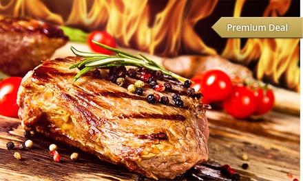 All-you-can-eat-Barbecue für Sechs mit Pommes frites, Salat und 10 l Bier im Brauhaus Weiss Bräu für 116,90 €