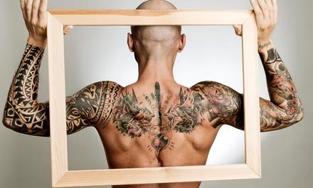 Buono sconto fino a 250 € per la realizzazione di un tatuaggio di varie dimensioni