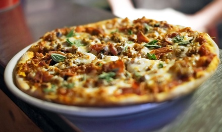 Personal Pizzas and Signature Mason JarCocktails or Beersat Slice & Co. (Up to 52% Off)