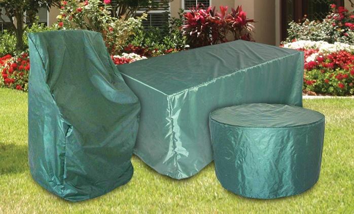 כיסוי חזק לרהיטי הגן: כיסאות, שולחן עגול, מלבני או מנגל, להגנה מפני לכלוך, אבק ופגעי מזג האוויר, החל מ-39.90 ₪