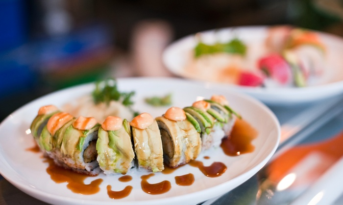 Sogo fusion - Asheville: $11 for $20 Worth of Sushi and Asian Cuisine for Dinner at Sogo Fusion