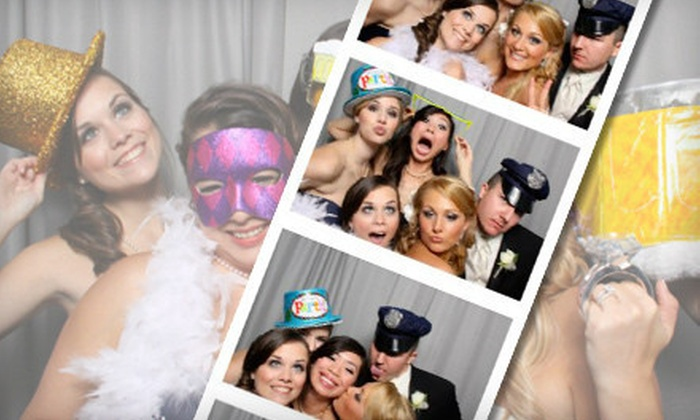 Mobile Memories Photo Booth - New Orleans: $399 for Three-Hour Photo-Booth-Rental Package with Prints and Flash Drive from Mobile Memories Photo Booth ($875 Value)