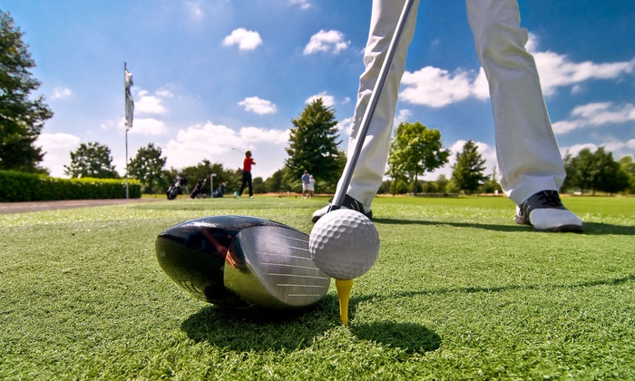 River Wilds Golf Club - Blair: Round of Golf and a Cart for Two or Four People on a Weekday or Weekend at River Wilds Golf Club (Up to 50% Off)