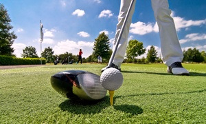 River Wilds Golf Club: Round of Golf Including Cart Rental for 2 or 4 at River Wilds Golf Club (Up to 43% Off). Four Options Available.