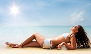 Tan Republic: Two Mystic Tans or One Month of Gold-Level UV Tanning at Tan Republic (Up to 67% Off)