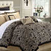 Turin 8-Piece Reversible Comforter Set