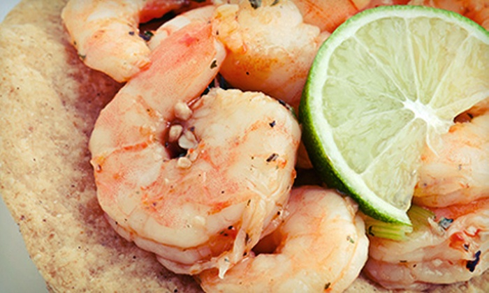 Camaron Pelado Seafood Grill - Prospect Hill: $10 for $20 Worth of Mexican Seafood at Camaron Pelado Seafood Grill