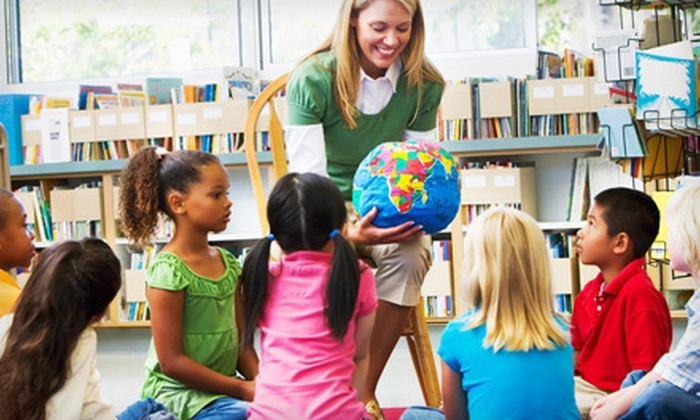 Language Stars - Multiple Locations: Four Kids' Foreign-Language Classes with CD or Language-Blast Session at Language Stars (Up to 61% Off)