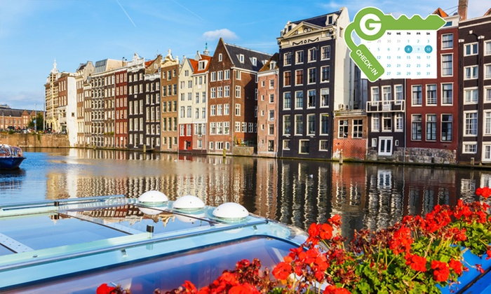 Short stay group amsterdam a amsterdam groupon getaways for Vacanza a amsterdam