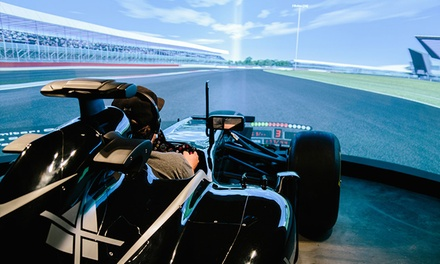 30Minute F1 Simulator for One $49 or 60Minute Simulator for Two People $139 at MXJ F1 Simulator Up to $299 Value