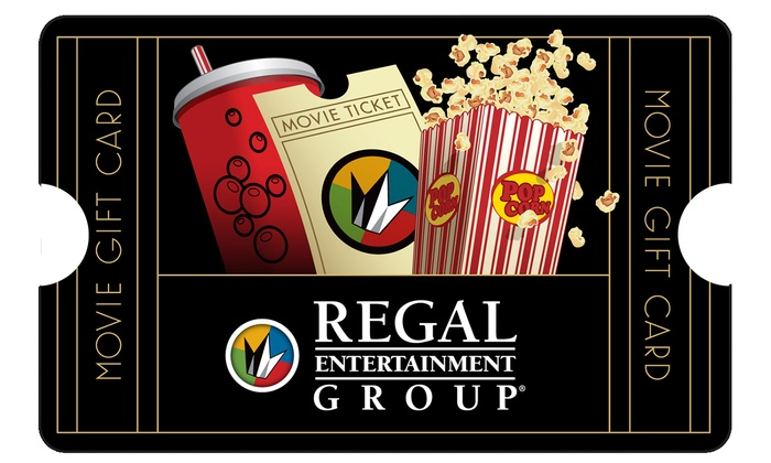 $25 Voucher to Regal Theaters - Regal Entertainment Group | Groupon