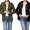 Women's Three-Pocket Military Jacket