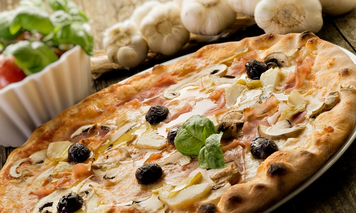 Randy's Wooster St. Pizza Shop - Manchester: $12 for $20 Worth of Brick-Oven Pizza at Randy's Wooster St. Pizza Shop