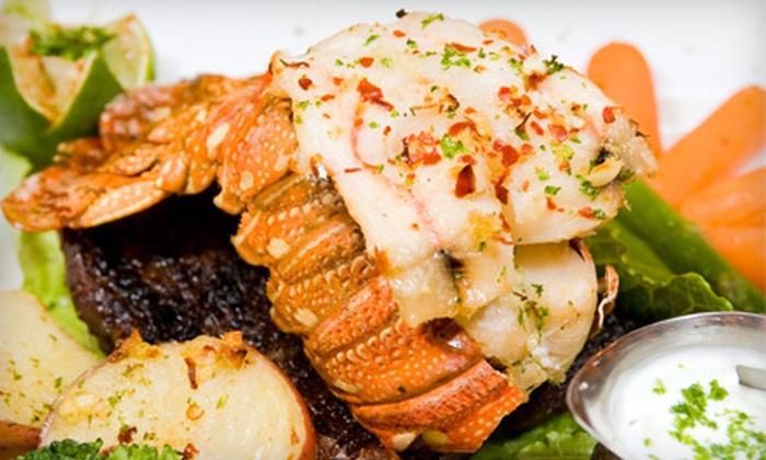 Beebo Seafood & Raw Bar - Bay Ridge & Fort Hamilton: $39 for Surf n' Turf Meal for Two at Beebo Seafood & Raw Bar ($90 Value)