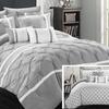 Chic Home Reversible Design Bedding Set (10-Piece)
