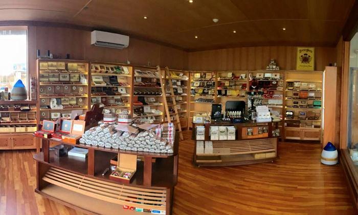 El Cigar Shop - El Cigar Shop: Cigars, Humidors, and Accessories at El Cigar Shop (40% Off). Two Options Available.