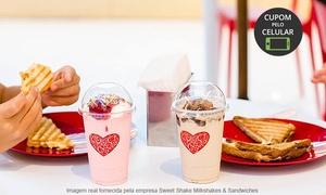 Sweet Shake Milkshakes & Sandwiches- Shopping Iguatemi: Sweet Shake –Shopping Iguatemi: milk-shake ou combo com milk-shake e sanduíche para 1 ou 2 pessoas