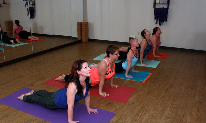Azitala Yoga - Elk River: Four Weeks of Hot Yoga Classes at azItala Yoga (65% Off)