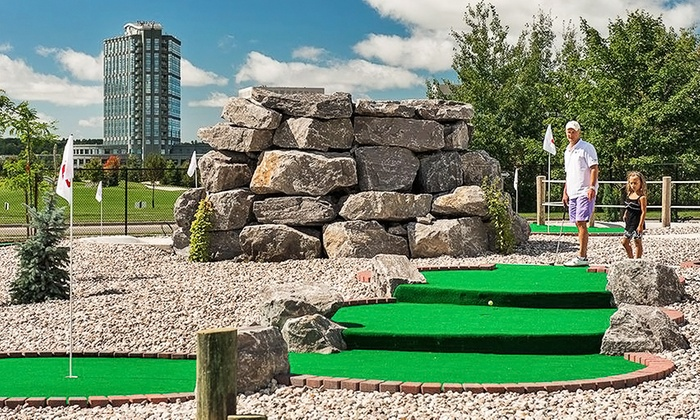 The Marshes Golf Club - Kanata Lakes - Marchwood Lakeside - Morgan's Grant - Kanata: 18-Hole Rounds of Mini Golf at Blackbird Falls Putting Course at The Marshes Golf Club (Up to 48% Off)