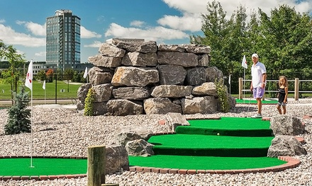 18-Hole Rounds of Mini Golf at Blackbird Falls Putting Course at The Marshes Golf Club (Up to 48% Off)