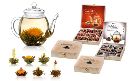 Choice of Six Flowering Abloom Tea Gift Sets from £13.99 (Up to 50% Off)