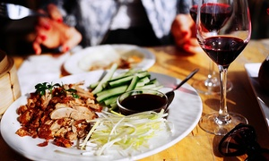 Tang Dynasty Restaurant: Chinese Banquet with Wine for Two (from $59) or Four People (from $115) at Tang Dynasty Restaurant (From $81 Value)