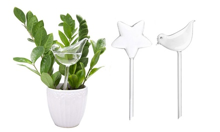 Water-Releasing Bird- or Star-Shaped Stakes: Two ($9.95) or Four ($15)