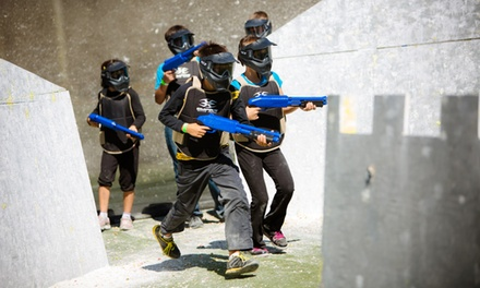 $30 for One Hour of SplatMaster Low-Velocity Paintball for 10 from Splat Zone Paintball (Up to $100 Value)