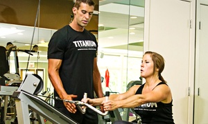 Titanium Fitness LLC: Three Personal-Training Sessions for One or Two at Titanium Fitness LLC (Up to 78% Off)