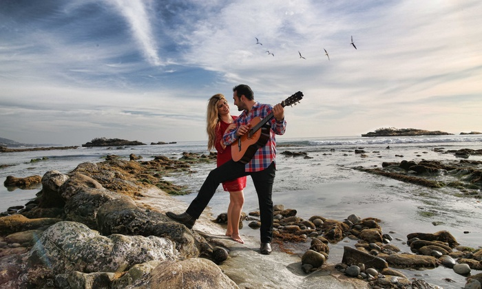 Cbello / Connery Film - Orange County: 120-Minute Engagement Photo Shoot with Digital Images from ConneryFilm (55% Off)